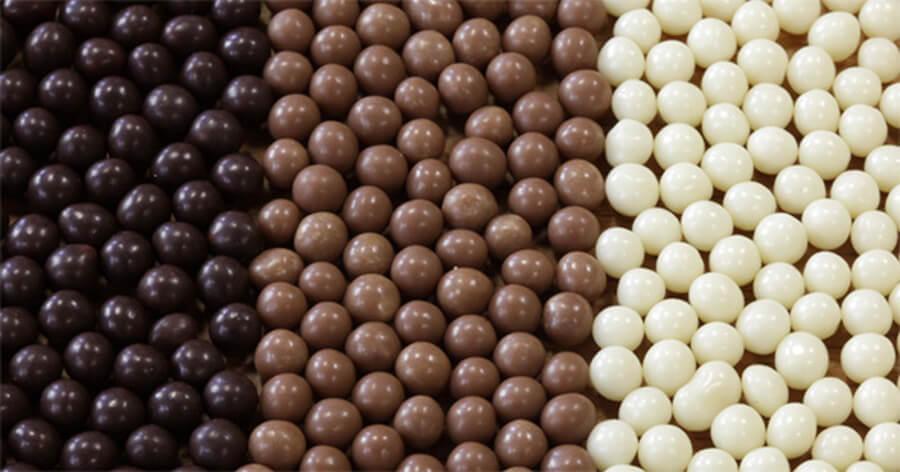 kuleczki czekoladowe, posypka crunchy